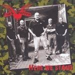 COCK SPARRER, here we stand cover