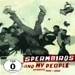 Cover SPERMBIRDS, me and my people - stories 1984 - 2006