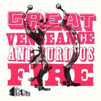 THE HEAVY, great vengeance & furious five cover