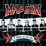 MAD SIN, 20 years in sin sin cover