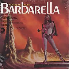 Cover O.S.T., barbarella