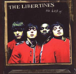 LIBERTINES, time for heroes/best of... cover