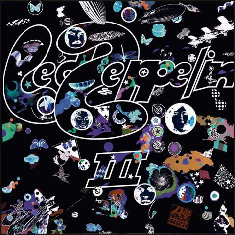 Cover LED ZEPPELIN, III (remastered)