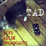 TAD, live alien broadcast cover