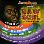 Cover JAMES BROWN, raw soul