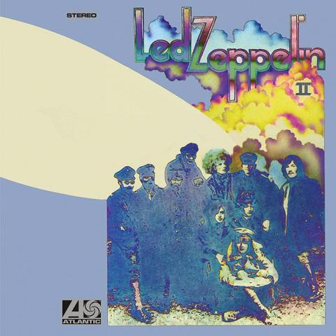 LED ZEPPELIN, II (remastered) cover