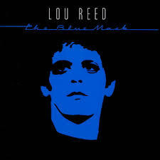 Cover LOU REED, blue mask