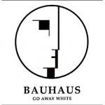 BAUHAUS, go away white cover