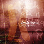 Cover DAVE GAHAN, saw something
