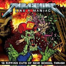 V/A, thrashing like a maniac cover