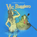 VIC RUGGIERO, something in my blindspot cover