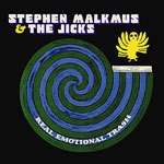 Cover STEPHEN MALKMUS & THE JICKS, real emotional trash