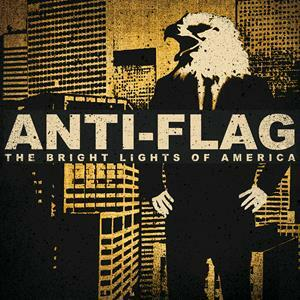 Cover ANTI-FLAG, bright lights of america