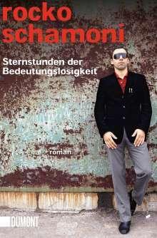 ROCKO SCHAMONI, sternstunden der bedeutungslosigkeit cover