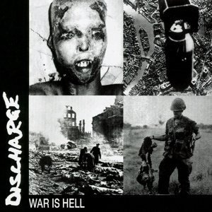 DISCHARGE, war is hell cover