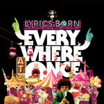 Cover LYRICS BORN, everywhere at once