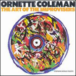 Cover ORNETTE COLEMAN, art of the improvisers