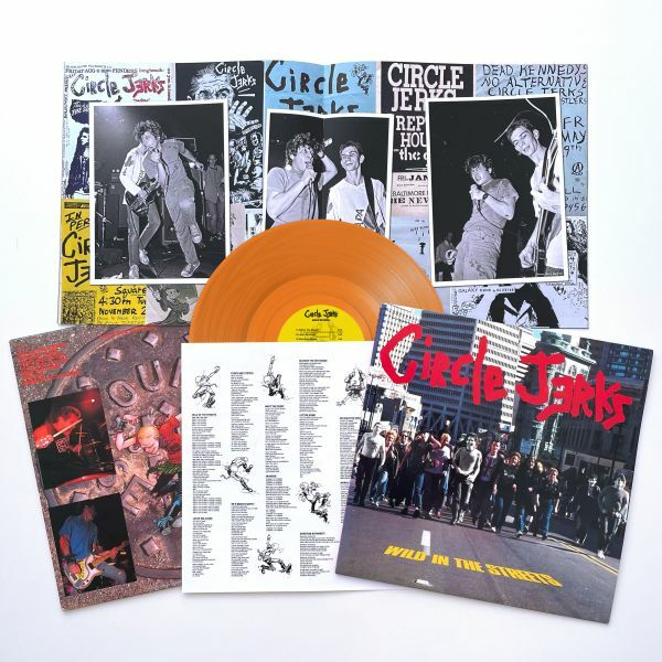 CIRCLE JERKS, wild in the streets cover