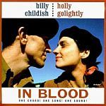 BILLY CHILDISH & HOLLY GOLIGHTLY, in blood cover