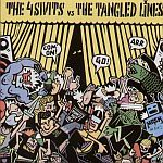 Cover 4 SIVITS / TANGLED LINES, split