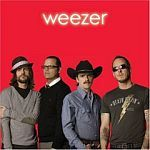 WEEZER, red album cover