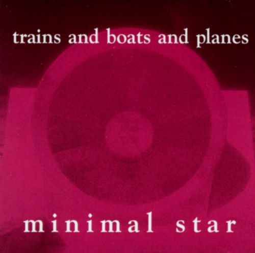 Cover TRAINS & BOATS & PLANES, minimal star