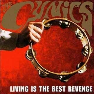 CYNICS, living is the best revenge cover