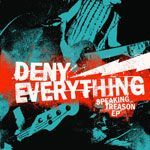 Cover DENY EVERYTHING, speaking treason ep