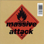 Cover MASSIVE ATTACK, blue lines