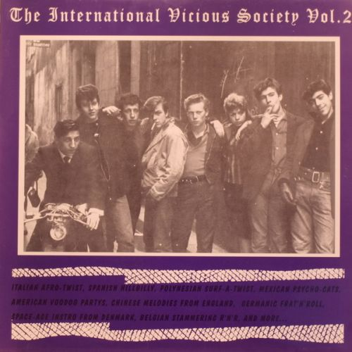 Cover V/A, international vicious society # 2