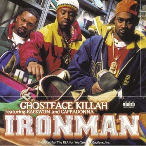 Cover GHOSTFACE KILLAH, ironman