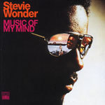Cover STEVIE WONDER, music of my mind