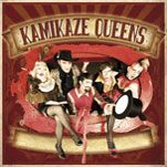 Cover KAMIKAZE QUEENS, voluptuous panic!