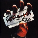 JUDAS PRIEST, british steel cover