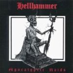 HELLHAMMER, apocalyptic raids cover