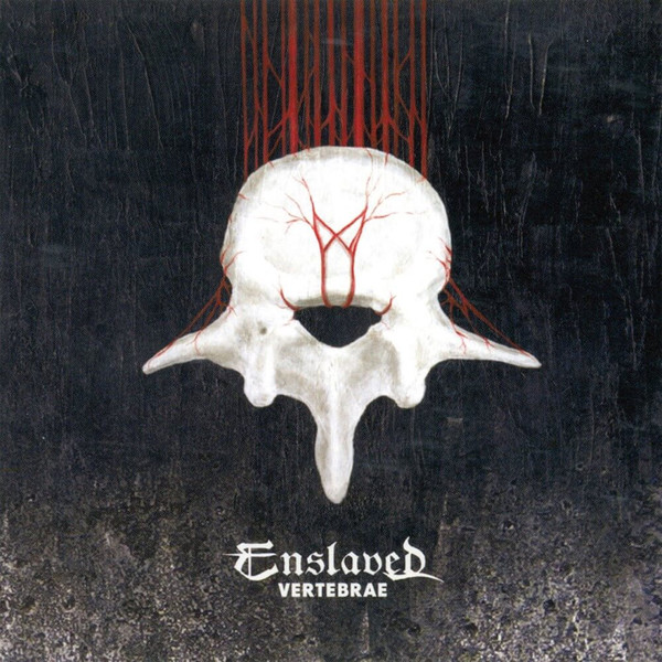 ENSLAVED, vertebrae cover