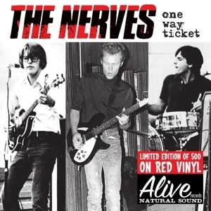 NERVES, one way ticket cover