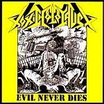 Cover TOXIC HOLOCAUST, evil never dies