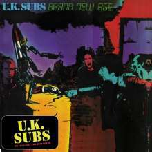 UK SUBS, brand new age cover