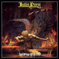 Cover JUDAS PRIEST, sad wings of destiny