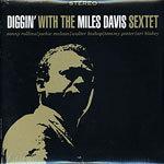 MILES DAVIS, diggin´with the miles davis sextet cover