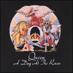 Cover QUEEN, a day at the races