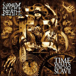 Cover NAPALM DEATH, time waits for no slave