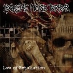 EXTREME NOISE TERROR, law of retaliation cover