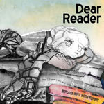 Cover DEAR READER, replace why with funny