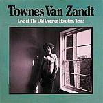 Cover TOWNES VAN ZANDT, live at the old quarter