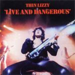 Cover THIN LIZZY, live & dangerous