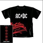 Cover AC/DC, rock´n´roll train_black