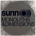 Cover SUNN O))), monoliths & dimensions
