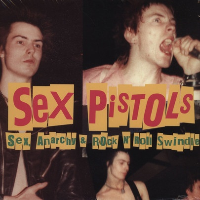 Cover SEX PISTOLS, sex, anarchy & rock´n roll swindle